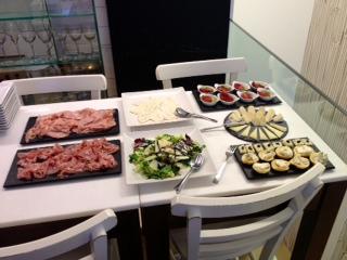 Variedad de delicias italianas