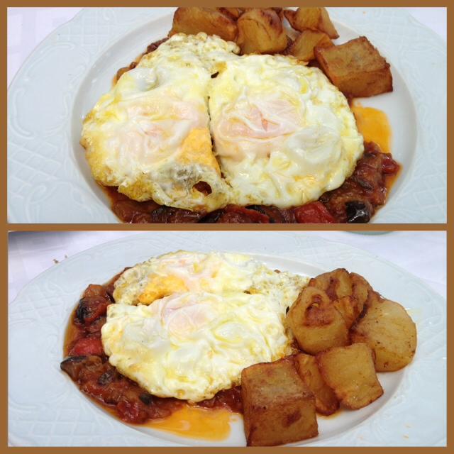 Can Rectoret_huevos con patatas