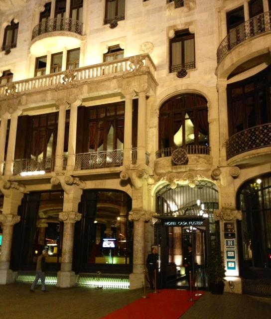Casa fuster barcelona las cenas de ingrid - Restaurante casa fuster barcelona ...