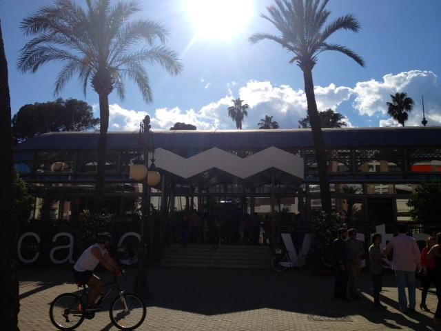 Entrada del Mercado Victoria