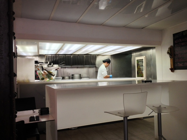 Cocina a la vista. Open Kitchen. Offene Küche.