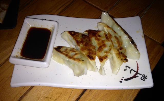 Empanadillas japonesas. Japanese dumplings. Japanische Knödeln.