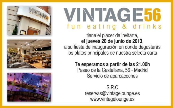 Vintage 56_innauguración_invitación