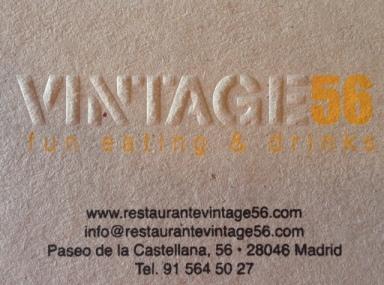 Vintage 56_innauguración_tarjeta