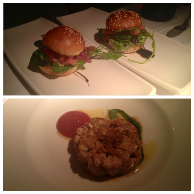 Hamburguesa de bonito. Tuna burger. Soooo good. Tunfisch-burger. Ehrlich lecker.
