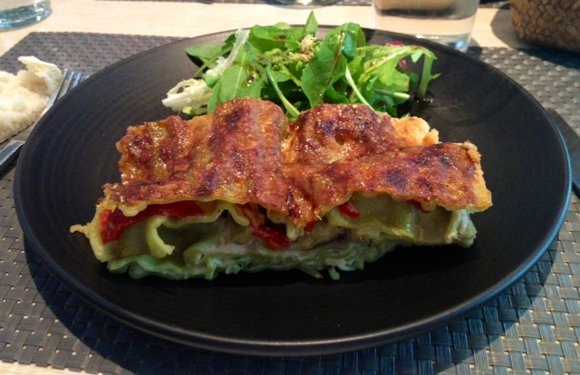 Lasaña de verduras. Vegetable Lasagna. Gemüse-Lasagne.
