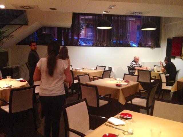 Restaurante. Restaurant.