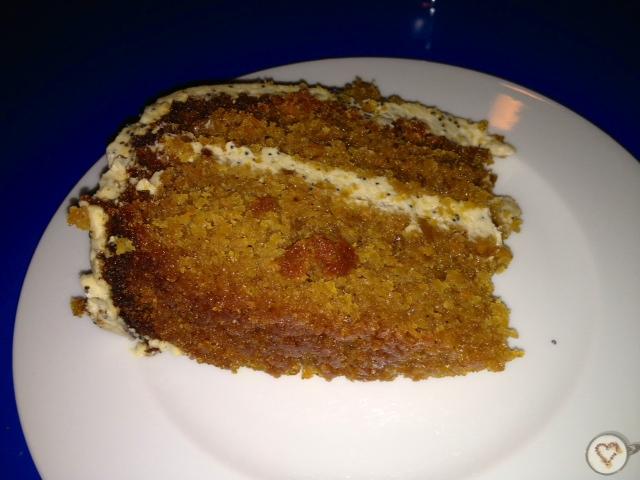 Tarta de zanahoria. Carrot cake. Karottenkuchen.