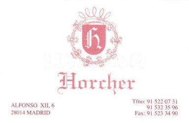 Horcher_tarjeta