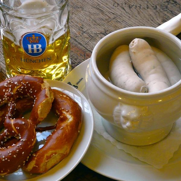 Weisswurstfrüstück, el desayuno más reconfortante. Fuente: Typisch bayerisch
