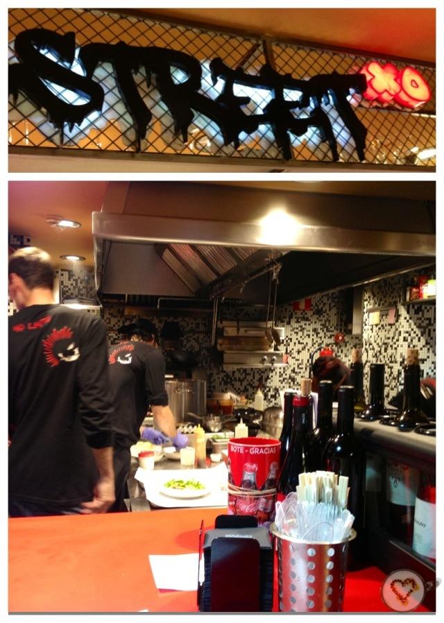 Cocineros trabajando.¡Todo un espectáculo! Working Chefs. What a show! Arbeiten Köche. Was für eine Show!