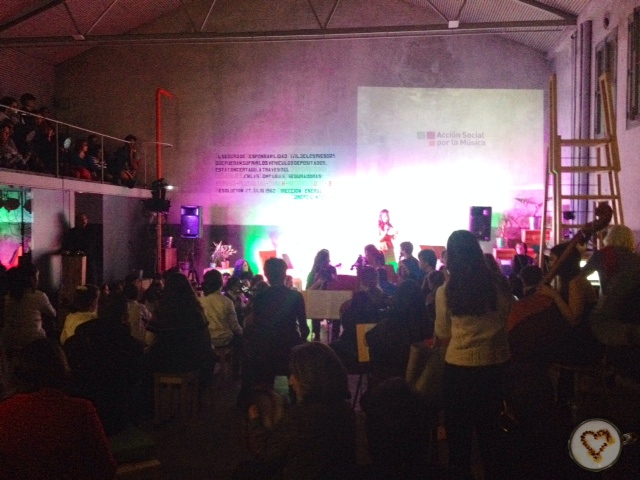 Presentación de Acción Social por la Música.
