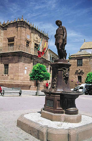 Casco urbano de Montoro. Fuente: Arteguías