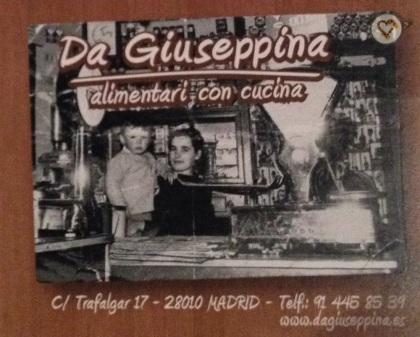 Da Giuseppina_portada y tarjeta