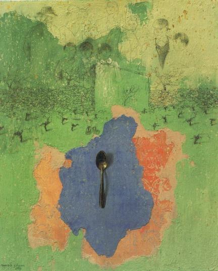 Uno de sus últimos cuadros, más moderno.