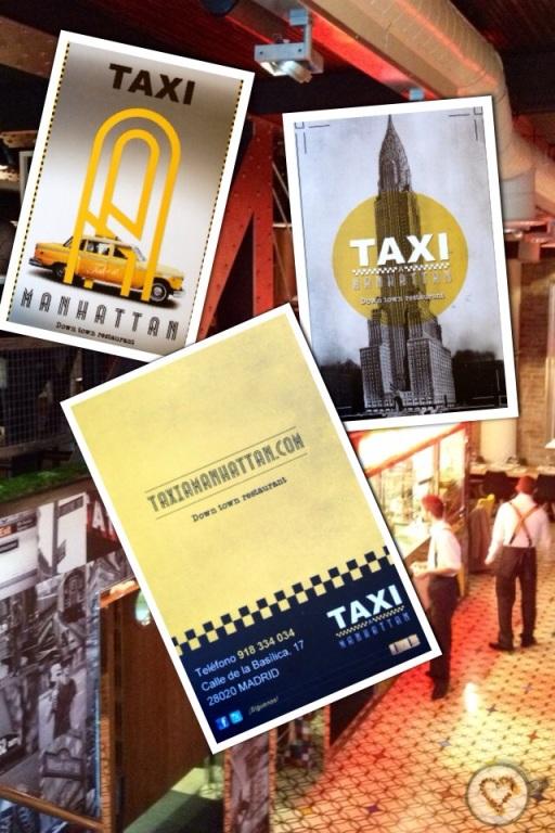 Taxi a Manhattan_tarjeta