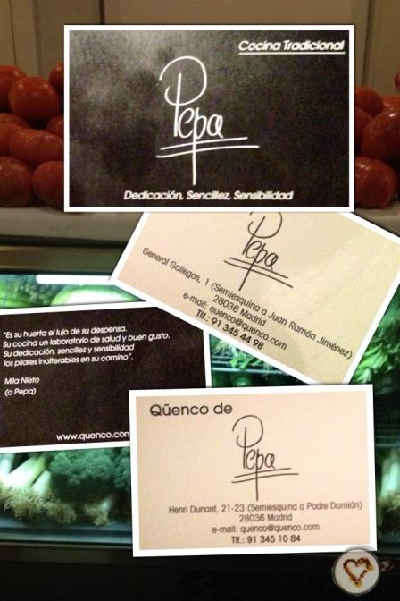 El qüenco de Pepa_tarjeta
