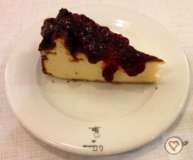 Tarta de queso. Cheesecake.