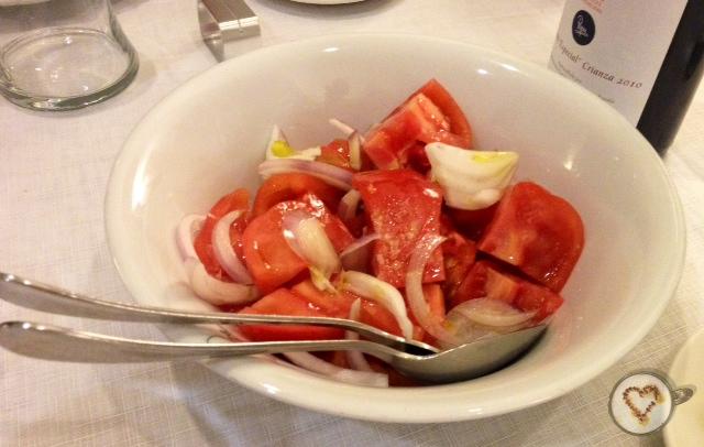 Ensalada de tomate. Tomato salad. Tomatensalat.