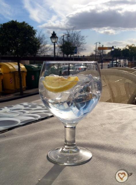 Gin tonic (5€).