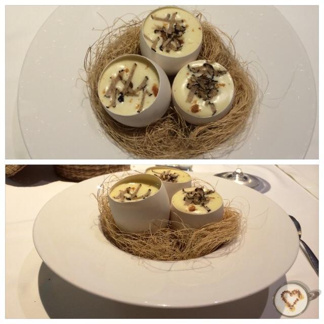 Huevos de ganso ibérico (14€). Iberian goose eggs.  Iberischen Gänseeier.