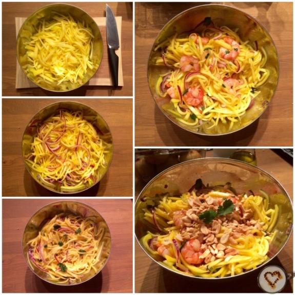 ¡Cómo va cambiando la pinta de la ensalada!